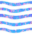 seamless striped color pattern vector image vector image