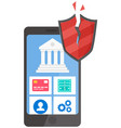 smartphone security protect your digital gadget vector image