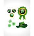 St Patricks Day elements vector image