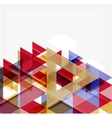 Abstract geometric background modern overlapping