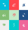 Abstract set vector image