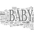 baby expense when money is tight and baby s on vector image vector image