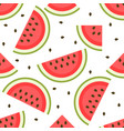 background with tasty and sweet watermelon vector image vector image