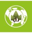 environment globe concept icon graphic vector image vector image