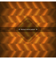 geometric abstract background in orange vector image