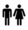 men and women icon vector image vector image