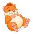 Sleeping hamster vector image vector image