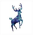 Tiangle deer vector image