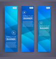 abstract banners eps10 backgrounds vector image