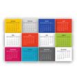 Calendar vector image