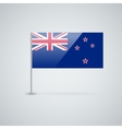 Flag of New Zealand vector image vector image