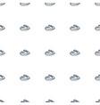jet ski icon pattern seamless white background vector image vector image