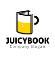 Juicy Book Design vector image