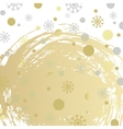 abstract holiday christmas background with vector image vector image