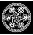 Fate wheel vector image vector image