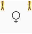 female sign icon vector image vector image