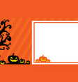 halloween greeting card style collection vector image vector image