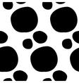 Hand Drawn Paisley Seamless Pattern vector image