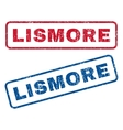 Lismore Rubber Stamps vector image vector image