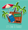 time to travel icon vector image vector image