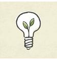 lightbulb ecology concept vector image