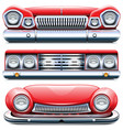 automotive front end vector image