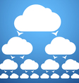 cloudscheme vector image