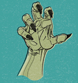 ghoul hand vector image vector image