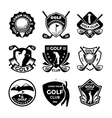 Golf Badges vector image vector image