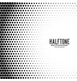 halftone gradient dots pattern background vector image