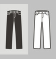 jeans vector image