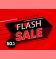 sale banner look like big vector image vector image