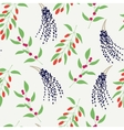 Seamless plant background Endless pattern vector image vector image