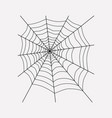 spiders web icon line element vector image vector image