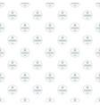 starfish pattern seamless vector image vector image