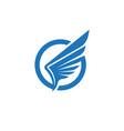 Wing falcon logo template