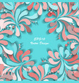 colorful holidays background vector image