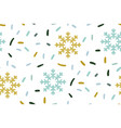 christmas new year children pattern vector image