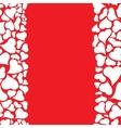 happy valentines background vector image vector image