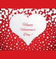 happy valentines day vector image vector image