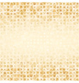 Luxury golden geometrical background vector image vector image