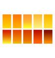 set gradient backgrounds honey color palette
