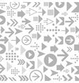 Background of arrows9 vector image vector image