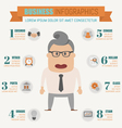 business infographics elements vector image vector image