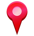 Map point vector image