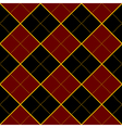 Royal Red Black Diamond Background vector image vector image