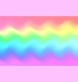 unicorn rainbow wave background mermaid galaxy vector image vector image