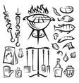 vector barbecue party vector image