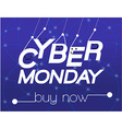 cyber monday 5 vector image