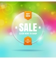 Glass sale vector image